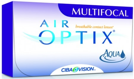 AIR OPTIX AQUA MULTIFOCAL 6 pk progressiv linse